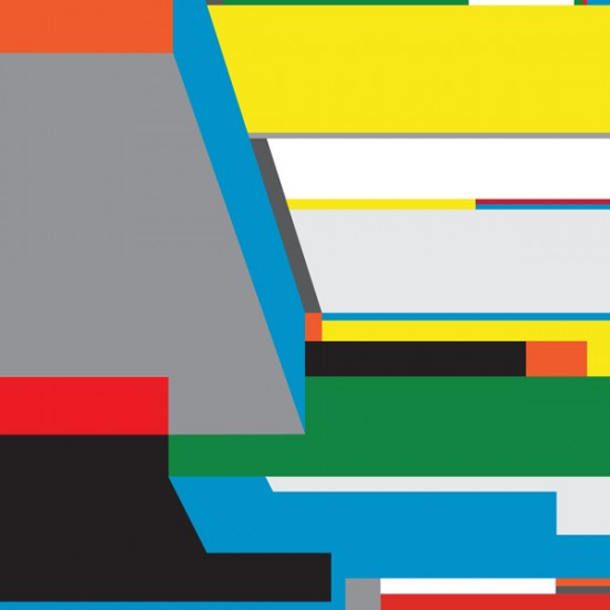 Geometric Abstract Paintings Bryce Hudson 2012 3 Composition-36x48-15