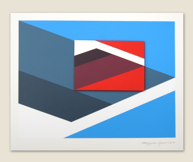 Geometric Abstraction Hard Edge Artist Bryce Hudson